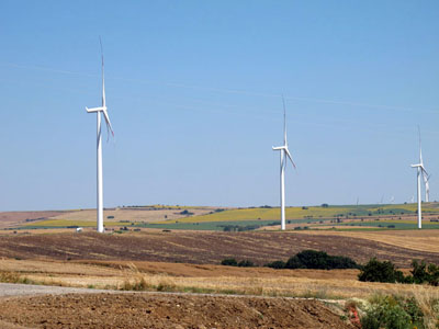 Balabanli - Wind Energy Power Plant - TEKIRDAG